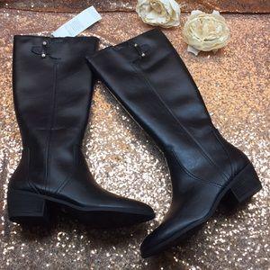 Dr. Scholls Black Tall Boots 10M